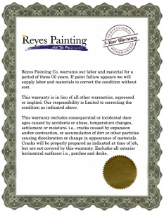 Best Painting Warranty in South Florida