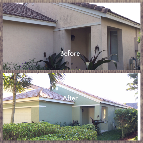 Weston fl Exterior Painting Project Front