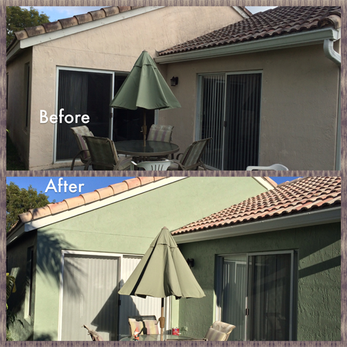 Weston Fl Exterior Painting Project Back