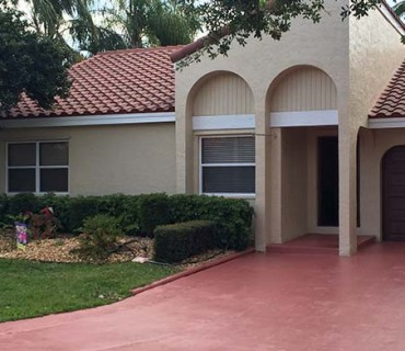 Rock Creek Cooper City FL Exterior Painting
